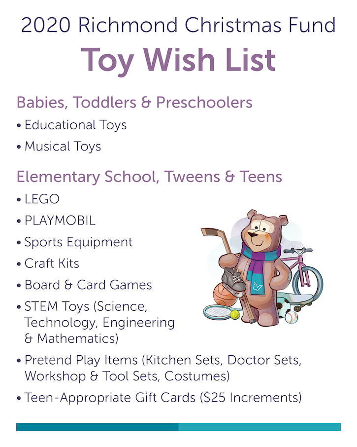 2018 Toy Wish List