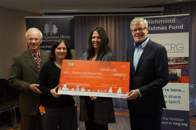 Pacific Gateway Hotel Donation 650